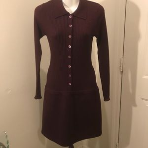a.s.a.p Saks Fifth Avenue wool dress size S